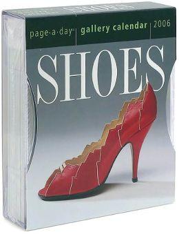 2006 Shoes Gallery Box Calendar
