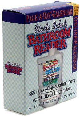 2006 Uncle John's Bathroom Reader Page-A-Day Box Calendar