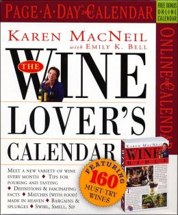 2007 Wine Lover's Page-A-Day Box Calendar
