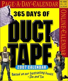 2007 365 Days of Duct Tape Page-A-Day Box Calendar