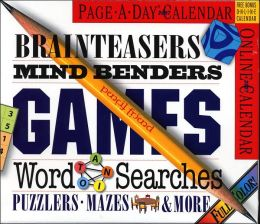 2007 Brainteasers, Mind Benders Page-A-Day Calendar