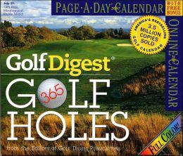 2007 Golf Digest 365 Golf Holes Page-A-Day Calendar