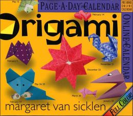 2007 Origami Color Page-A-Day Box Calendar