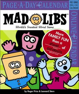 2007 Mad Libs Page-A-Day Box Calendar