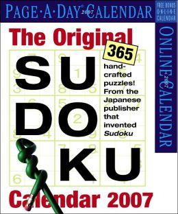 2007 The Original Sudoku Box Calendar