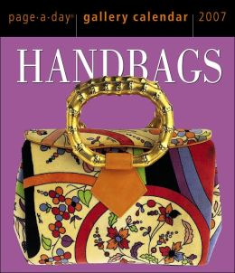 2007 Handbags Gallery Box Calendar