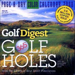 2008 Golf Digest 365 Golf Holes Page-A-Day Calendar