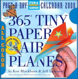 2008 365 Tiny Paper Airplanes Page-A-Day Calendar