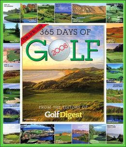 2008 365 Days of Golf Wall Calendar