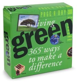 2008 Living Green Page-A-Day Calendar