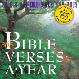 2009 Bible Verses Page-A-Day Calendar