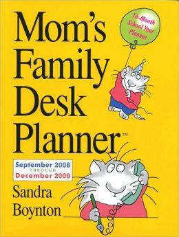 2009 Mom's Family Desk Planner Calendar