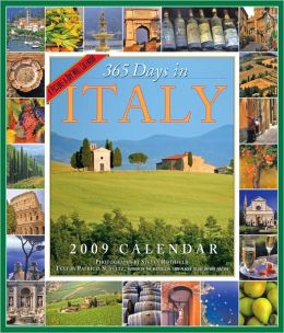 2009 365 Days In Italy Wall Calendar
