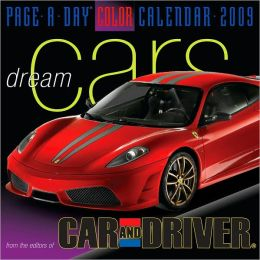 2009 Dream Cars Page-A-Day Calendar