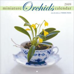 2009 Miniature Orchids Wall Calendar