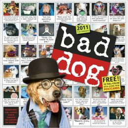 2011 Bad Dog Wall Calendar