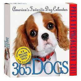 365 Dogs Page-A-Day Calendar 2011 Workman Publishing