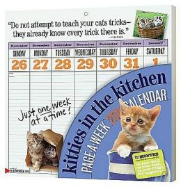 2011 The Kitty in the Kitchen Page-A-Week Wall Calendar