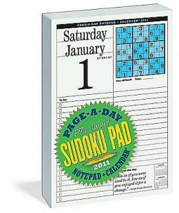 2011 Smart Sudoku Page-A-Day Notepad + Calendar