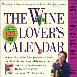 2012 The Wine Lover's Page-A-Day Calendar