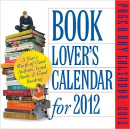 2012 Book Lover's Page-A-Day Calendar