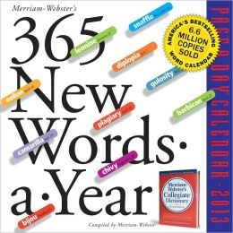 2012 365 New Words-A-Year Page-A-Day Calendar
