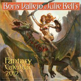 2012 Boris Vallejo & Julie Bell's Fantasy Wall Calendar