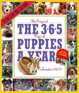 2012 The 365 Puppies-A-Year Picture-A-Day Wall Calendar