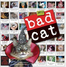 2012 Bad Cat Wall Calendar