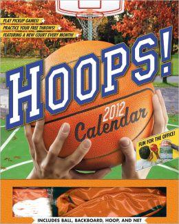 2012 Hoops! Wall Calendar