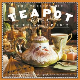 2012 Collectible Teapot & Tea Wall Calendar