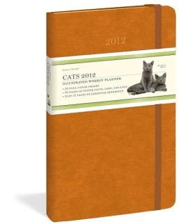 2012 Cats Daily Muse Weekly Planner Calendar
