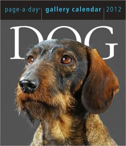 2012 Dog Page-A-Day Gallery Box Calendar