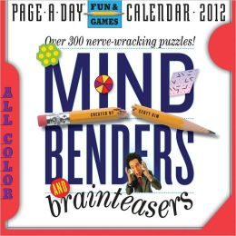 2012 Mind Benders and Brainteasers Page-A-Day Calendar