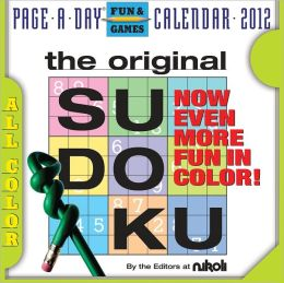 2012 The Original Sudoku Page-A-Day Calendar