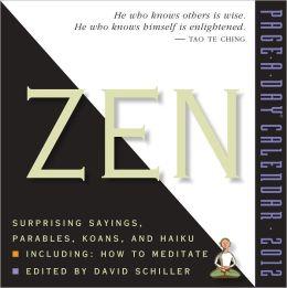 2012 Zen Page-A-Day Calendar