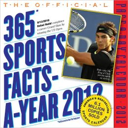 2012 The Official 365 Sports Facts-A-Year Page-A-Day Calendar