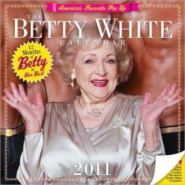 2011 Betty White Wall Calendar