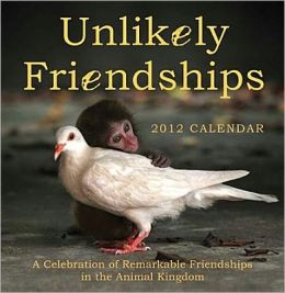 2012 Unlikely Friendships Wall Calendar