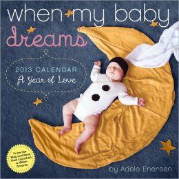 2013 When My Baby Dreams Wall Calendar