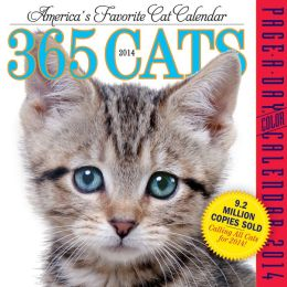 2014 365 Cats Page-A-Day Calendar