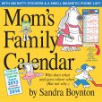 Book Cover Image. Title: 2014 Mom's Family Wall Calendar, Author: Sandra Boynton