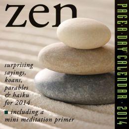 2014 Zen Page-A-Day Calendar