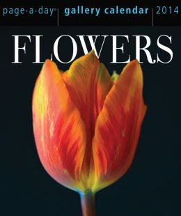 2014 Flowers Gallery Page-A-Day Calendar
