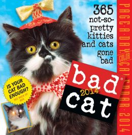 2014 Bad Cat Page-A-Day Calendar