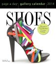 Book Cover Image. Title: 2014 Shoes Gallery Page-A-Day Calendar, Author: Workman
