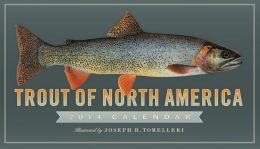 2014 Trout of North America Wall Calendar