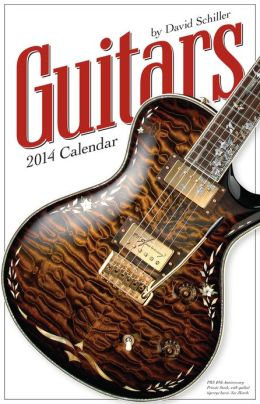 2014 Guitars Wall Calendar