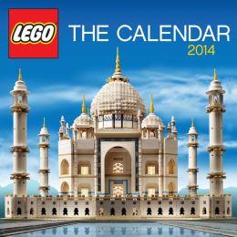 2014 Lego Mini Wall Calendar