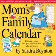 Book Cover Image. Title: 2015 Mom's Family Wall Calendar, Author: Sandra Boynton
